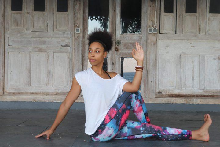 Twists: yoga houding voor rugpijn